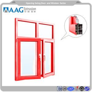 50 Sistemas de Recubrimiento en polvo de la puerta de oscilación lateral y colgó el perfil de aluminio