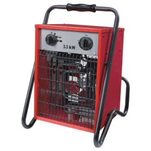 Aquecedor Ventilador Industrial portátil 3.3kw Aquecedor Eléctrico de bobinas de Troca de Calor