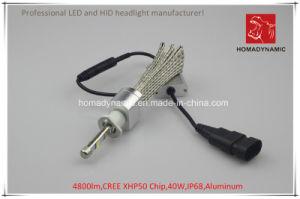 Coche de LED de luz de faro de LED H7 4800LM Chip CREE