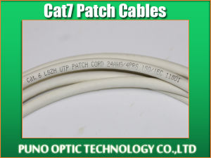26AWG CAT7 UTP 10G sólidos patch cord