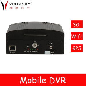 Vcomsky Heißes-Selling 4CH D1 Hard Disk Mobile DVR für Schulbus/Car