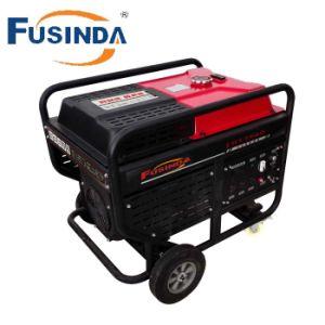 Quente: 10KW Double-Cylinder gerador a gasolina com arranque eléctrico