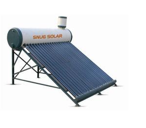 Calentador solar de agua sin presión 100L con el tanque Asistente