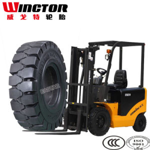 Forklift Solid Tyre, Solid Rubber Tire with Low Price