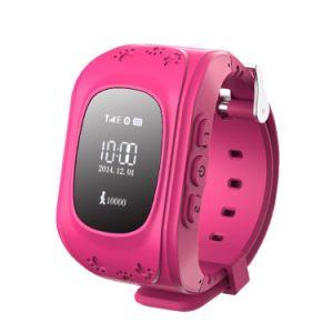 Q50 Cartão SIM Mobile/Celular vigilância inteligente de GPS com Botão de Alarme de emergência para as crianças/ crianças