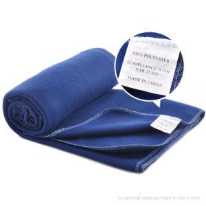 Anti-Pranchas promocionais cobertor de lã duplo de avião