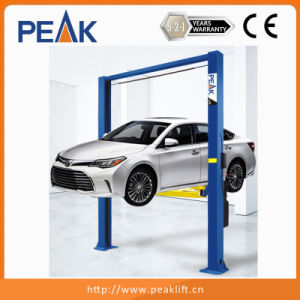 Garagem Chain-Drived Clearfloor dois Olhais de elevação Carro Post com marcação (208C)