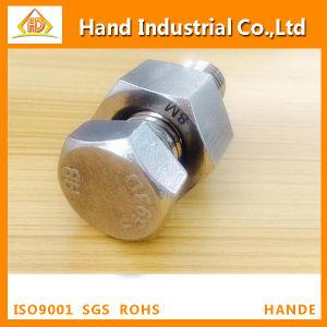 La norme ASME UN194 B8 B8m l'écrou hexagonal M10 avec le boulon