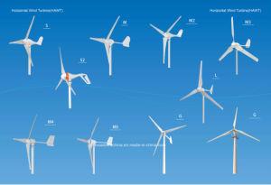 50W水平の3つの刃の小型風車(SHJ-50S)