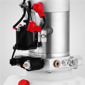 4 쿼트 공기통 단 하나 임시 유압 펌프 12V 덤프 트레일러