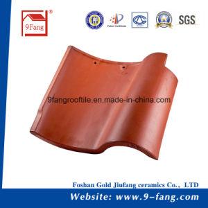 De verglaasde Tegels van het Dak van de Decoratie Materiële S van de Tegel van het Dakwerk van de Klei van de Tegel