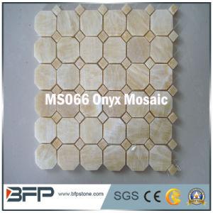 De natuurlijke Tegels van het Mozaïek van het Onyx voor de Binnenhuisarchitectuur van het Hotel/van de Villa