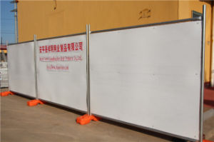 백색 HDPE 장 (XMS46)를 가진 Auatralia 표준 임시 담