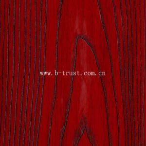 De houten Film van de Pvc-folie van de Korrel voor de VacuümPers van de Deur