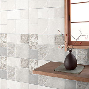 Plattelander van Inkjet verglaasde de Binnenlandse Ceramische Tegel van de Muur voor Keuken/Badkamers
