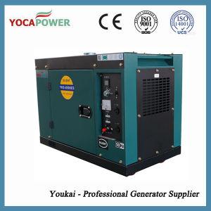 침묵하는 공기에 의하여 냉각되는 디젤 엔진 전력 발전기 세트