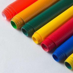 Hoja de PVC, material de tela de lona de PVC para tiendas de campaña
