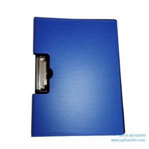 금속 클립을%s 가진 A4 PP 거품 오림판 폴더를 주문을 받아서 만드십시오