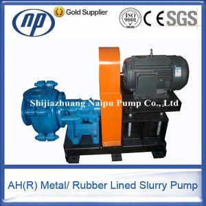 Pompa centrifuga orizzontale dei residui del pozzetto del fango di estrazione mineraria della cenere dell'oro