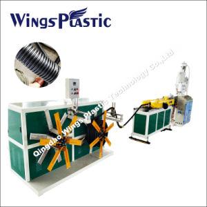 Tubo corrugado Línea de extrusión maquinaria, maquinaria de plástico tubo corrugado
