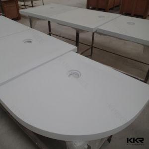 Acrylique Kingkonree profonde Surface solide base de la pierre Salle de bains avec douche