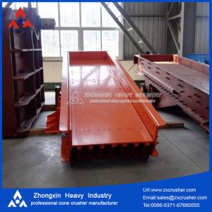 Chargeur haute capacité de vibration de la qualité/minerais convoyeur vibrant