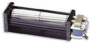 Ventilador de fluxo cruzado para encapsulamento BGA
