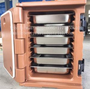60L Container van de Levering van het Snelle Voedsel van LLDPE de Plastic, de Doos van de Levering van de Motor