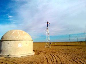 Neue Energie-windbetriebener Turbine-Generator für entlegenes Gebiet (200W-5KW)