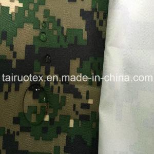 Revestidos de tecido de camuflagem militar de 100% de poliéster Oxford Fabric