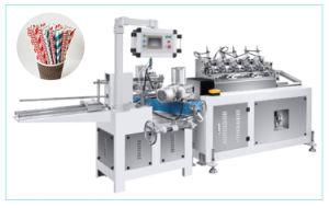 Tubo de papel a linha de tomada de Palha/Papel Máquina de palha de café de leite/Fazer Papel colorido papel palha potável tornando o equipamento da máquina