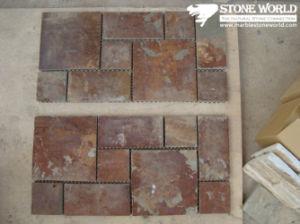 Tegels van het Mozaïek van de Lei van het netwerk de Roestige voor Muur/Bevloering (mm074)
