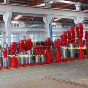Schiene hing Feuerbekämpfung-Wasser-Pumpen-Set ein