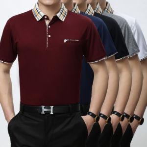 Disegno su ordinazione della maglietta di polo di marchio di alta qualità