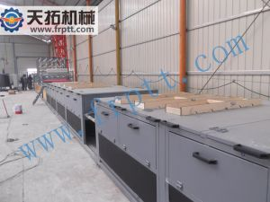 Folha de metal de PRFV inteligente informatizados da linha de produção