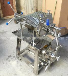 De Pers van de Filter van het Frame van de plaat 50 Micron 10 van het Roestvrij staal van de Soja Lagen van de Filter van de Melk