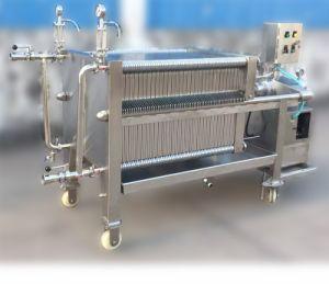Utilisation en laboratoire et le châssis de la plaque Filtre presse