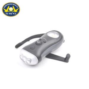 3 светодиодных индикатора ручного вращения генератора аварийный фонарь с радио
