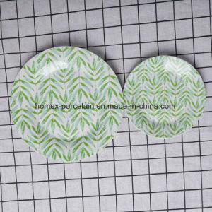 Western New Style populaire jeu de la vaisselle en céramique du restaurant