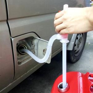 Manual de plástico Sifão Líquidos químicos de óleo combustível da bomba de transferência de fluidos