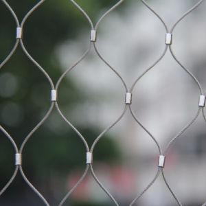 304 het Netwerk van de Kabel van de Kabel van de Draad van het roestvrij staal voor Decoratie