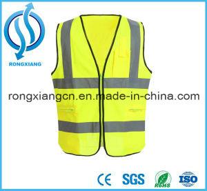 As crianças personalizados Vestuário reflector Laranja Colete Infantil de segurança para o tráfego
