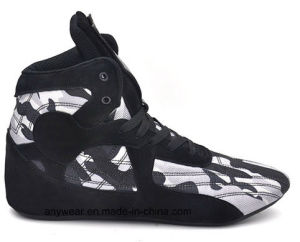 Formador de hombres calzado zapatos Rassling Inicio lucha de Boxeo (413)