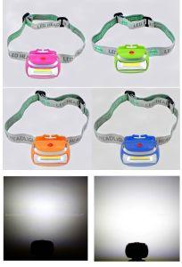 穂軸LEDヘッドランプ作業ライトヘッドライトの懐中電燈3AAAのヘッドライト