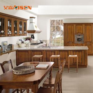 Fábrica de madeira MDF Mobiliário de cozinha armário de cozinha Poupança de espaço