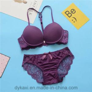 Nuevo diseño elegante, sexy Bra y Panty para Niñas