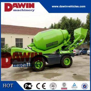1.5M3 auto-Carregamento Automático Betoneira Veículo com sistema de pesagem PLC