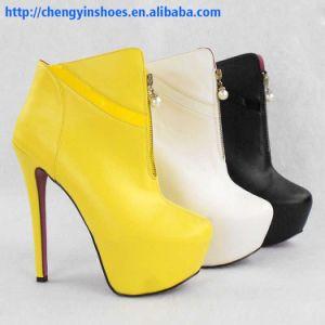 2015 Mesdames sandale chaussures 10 couleurs Semelle en caoutchouc talon haut Chaussures pour femmes Stiletto Chaussures robe haut talon