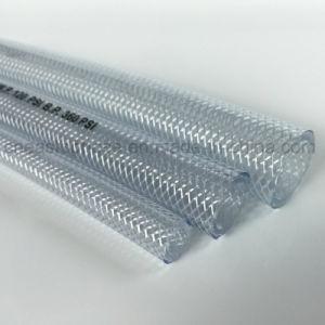 高品質水PVCファイバーの編みこみの透過ホース高圧適用範囲が広い水ホース
