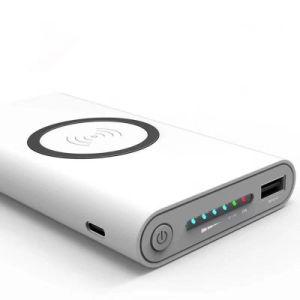 Cargador portátil de carga rápida Powerbank con piloto indicador LED de batería